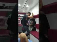 شاهد| مدير مكتب ميليشيات العصائب الإرهابية وسام العلياوي قبل مقتله على يد المحتجين - YouTube