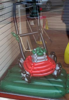 Mower Balloon Creation. How can I convert this into a Walker?!?