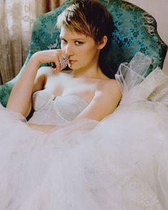 Mia Wasikowska--love her look and style.