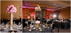 Black and white Striped Wedding with Pink Floral - Lasting Impressions