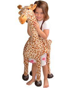 Giraffe Wrap & Ride Child Costume | KIDS