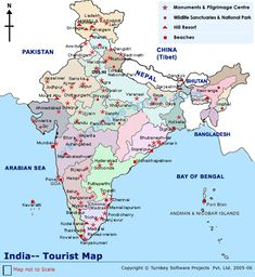 The Map Showing Hills And Rivers In De Yaa Pinterest India