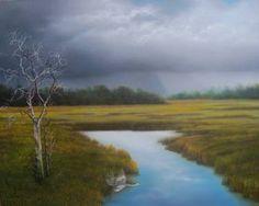 "Saatchi Art Artist Jerry Sauls; Painting, ""Close to Home"" #art"