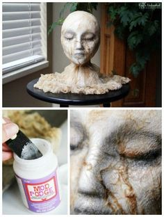 22 Wicked DIY Halloween Decorations And Scare Tactics DIY Halloween Deocration, DIY Halloween Decdor halloween diy halloween ideas/halloween ideas recipes Spooky Halloween, Porche Halloween, Halloween Mignon, Scary Halloween Decorations, Halloween Kostüm, Halloween Party Decor, Holidays Halloween, Michaels Halloween, Halloween Designs
