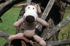 Crochet Dog  Brittas Art & Crafts