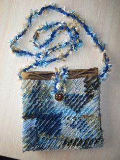 faux chenille purse