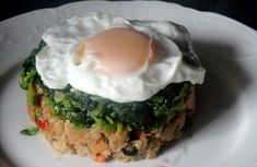 Alheira crumbs with greens and egg Easy Cooking, Cooking Recipes, Healthy Recipes, Helathy Food, Confort Food, Carne Picada, Portuguese Recipes, Happy Foods, Slow Food