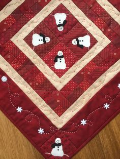 Snowball Bunch by Red Button Quilt Co. | Little Quilts | Pinterest ... : red button quilt co - Adamdwight.com