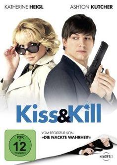 Kiss und Kill  2010 USA      IMDB Rating 5,1 (39.079)  Darsteller: Ashton Kutcher, Katherine Heigl, Tom Selleck, Catherine O'Hara, Katheryn Winnick,  Genre: Action, Comedy, Romance,  FSK: 12