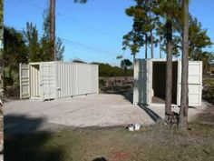 shipping containers home work shop part 1