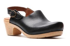 Easy to wear slingback clog - perfect for casual office attire and weekend comfort.