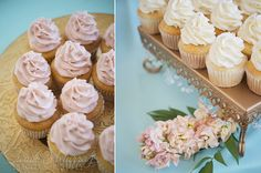 Wedding cupcakes on the cutest trays... The Regatta Place Wedding in Newport, Rhode Island - Sarah Murray Photography