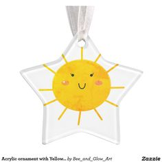 Hang Yellow ornaments from Zazzle on your tree this holiday season. Start a new holiday tradition with thousands of festive designs to choose from. Yellow Ornaments, Yellow Sun, Create Your Own, Christmas Ornaments, Holiday, Design, Vacations, Christmas Jewelry