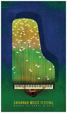 2013 Savannah Music Festival Posters!