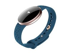 OOLIFENG Women's Smart Watch Fitness Tracker With Health Sleep Tracking Reminder Support Android 4.4 and IOS 8.0 Above , blue Energy Class A