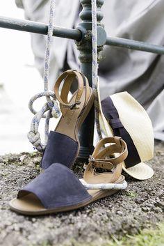 Egal ob Urlaub am Segelboot, am See oder am Meer. Diese Sandaletten sind Deine… Am Meer, My Style, Heels, Fashion, Paul Green Shoes, Sailboats, Don't Care, Vacation, Heel