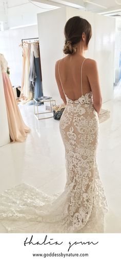 Click to view more of the 2018 Goddess By Nature bridal collections #bridalgown #weddinggown #weddingdress #bridal #bridetobe #engaged #weddingforward