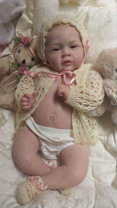 QUEEN'S CRIB OOAK REBORN BABY GIRL DOLL PRINCESS MARY ANN by Natalie Blick