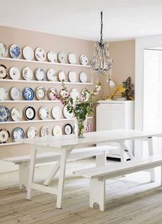plates on the wall #decor #retro #vintage