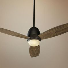 "52"" Quorum Bronx Oil-Rubbed Bronze Ceiling Fan - one 75 mini-candelabra bulb - Wall control - $296.91"
