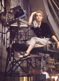 Grace Kelly was an American actress and Princess consort of Monaco.@ : Grace Kelly was an American actress and Princess consort of Monaco. Old Hollywood Stars, Golden Age Of Hollywood, Vintage Hollywood, Hollywood Glamour, Classic Hollywood, Hollywood Style, Hollywood Fashion, Hollywood Celebrities, Hollywood Actresses