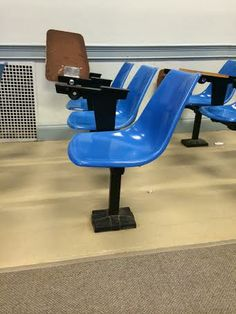 This is an example of distorted shape because a regular chair has four legs and this only has one leg in the middle to support it. It is altered in proportion as opposed to a four-legged chair.