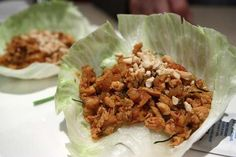 Healthy Meals Chicken Lettuce Wraps is listed (or ranked) 3 on the list P. Easy Healthy Recipes, Healthy Cooking, Easy Meals, Healthy Eating, Healthy Meals, Healthy Food, Fast Recipes, Asian Cooking, Healthy Fruits