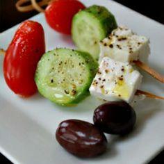 Veggie Skewer Appetizers | Appetizers-On A Stick:) on Pinterest | Skewers