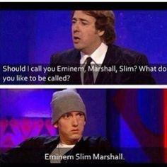 Eminem slim Marshall everyone😂 Eminem Funny, Eminem Memes, Eminem Rap, Eminem Quotes, Famous Love Quotes, Love Quotes For Him, Bruce Lee, Bob Marley, Marshall Eminem