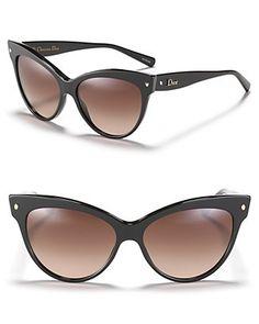 http://fashion881.blogspot.com - #Dior #cateye sunglasses