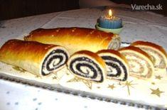 Sviatočný makovník a orechovník (fotorecept) - recept Hot Dog Buns, Hot Dogs, Czech Recipes, Bread, Baking, Desserts, Food, Basket, Deserts