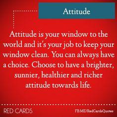 Attitude...