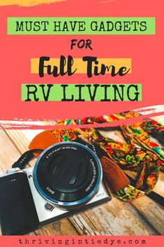 We've been living nomadically and uncovered 5 essential electronics for full time RV living! Great for van life too! Rv Camping Checklist, Camping Hacks, Camping Meals, Travel Hack, Time Travel, Travel Tips, Budget Travel, Living On The Road, Rv Living