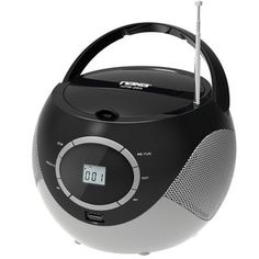 Naxa NPB-263 Portable Mini MP3/CD Boombox with AM/FM Radio and USB Player - Overstock™ Shopping - Big Discounts on Naxa Boomboxes