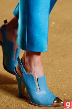 ..  www.galeene.com Blue gold cap sling back shoes