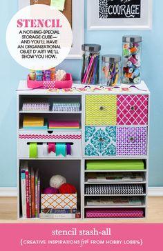 Decorate your storage