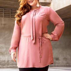 camisão EXPRIM em rosa queimado ❤️ essa cor sempre fica bem com tudo  #sempreexprim #exprimplussize