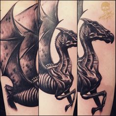 Thestral Tattoo Augsburgtattoos - photos instagram