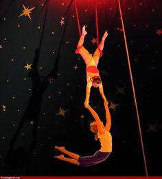 At the circus!.