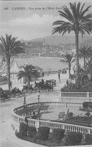 Attelages Bord DE MER VUE Prise DE L Hotel Carlton Cannes F118 | eBay