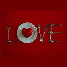 Say I #LOVE you at the dinner table