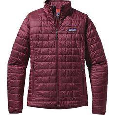 Patagonia Nano Puff Insulated Jacket - Women's Oxblood Red