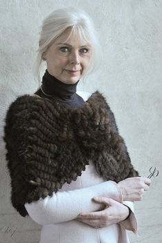 Karen Bit Vejle by Hans Olofsson, via Flickr...  I just noticed her shoulder wrap.  If anyone can verify this is real fur, I will remove this post forever!!!  pinner NM
