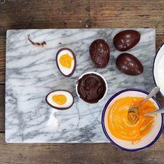 Chocolate Fondant Egg