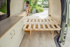 Want to create a unique van build but don't know where to begin? These campervan bed designs show creative and practical ideas for your van build. Whether you're looking for a permanent fixture, or something with more flexible storage we've got you covered with inspiration from the simple and practical to the unique.
