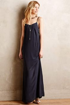 Despoina Silk Maxi Dress - anthropologie.com