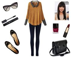 """Untitled #154"" by gameofruth on Polyvore I love the flats! AND everything else...xx"