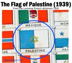 The Flag of Palestine, 1939 http://www.factualisrael.com/1939-palestinian-flag-look-like-surprised/…