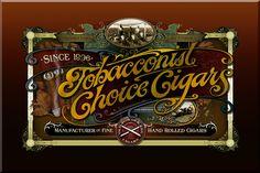 Tobacconist Choice Cigars « David Smith – Traditional Ornamental Glass Artist