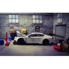 FREE Garage Accessory Mitsubishi Lancer Evolution VII WRC Diecast